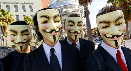 How to be Anonymous without breaking laws?